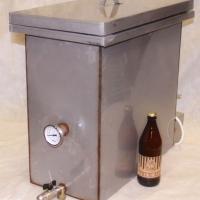 Заторно-фильтровальный бак 60 л. С отбортовкой под самостоятельное утепление.