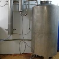 Дистилляционный (самогонный) аппарат 1000л.