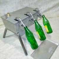 Разливочное устройство на 3 бутылки.