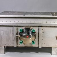 Заторно-фильтровальный бак 1000 л.  Дно с уклоном. Система аэрации. Люк для выгрузки дробины. Два тэна.
