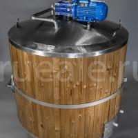 _Цилиндрический комплект оборудования для пивоварения 1т.