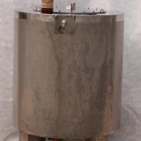 Цилиндр 200 литров с люком на шпильках