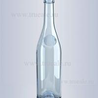 Бутылка с пробкой 0,5л. коньячная , мелким оптом.